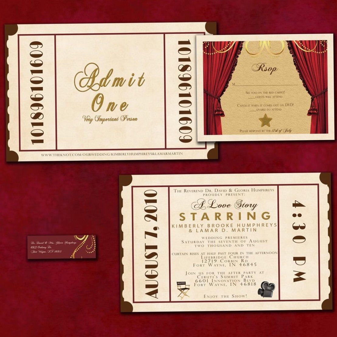 Having a theater inspired wedding or event? Check out my antique ...