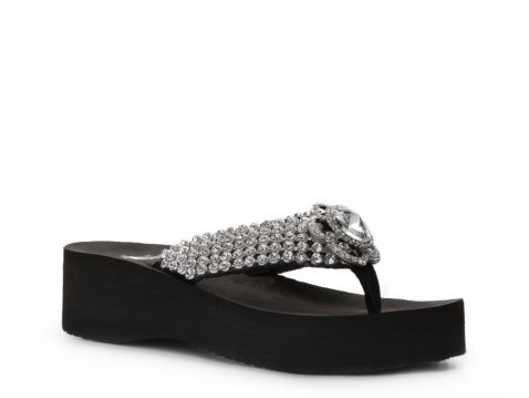 461b171b4239 Corky s Diamond Wedge Sandal