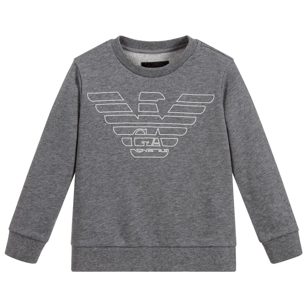 3d3ef188d5ae Boys Cotton Logo Sweatshirt