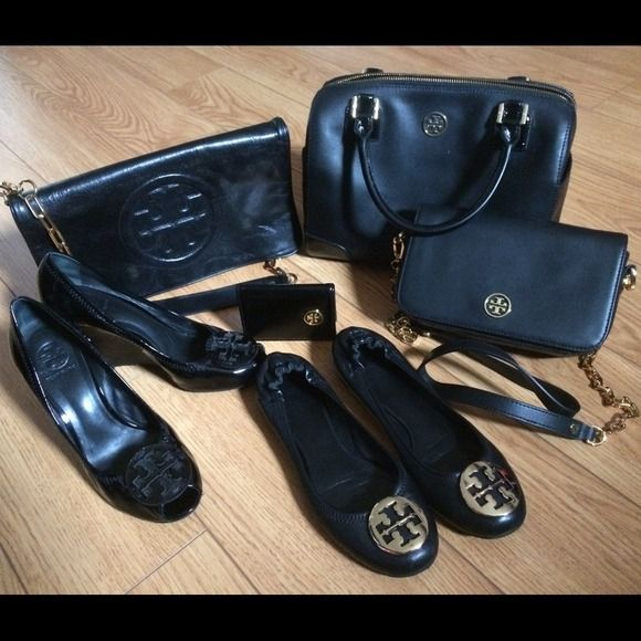 Sharing my Tory Burch black collection. All my staff brand new conditions. Love them all. Tory Burch Bags