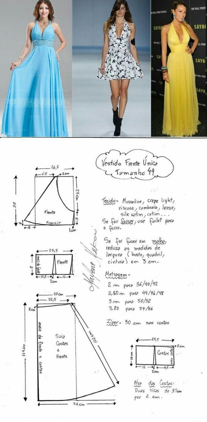 Concealed dress..<3 Deniz <3 | moldes varios | Pinterest | Molde ...