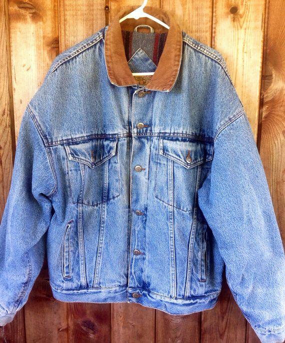 This Item Is Unavailable Lined Denim Jacket Vintage Wrangler Denim Jacket