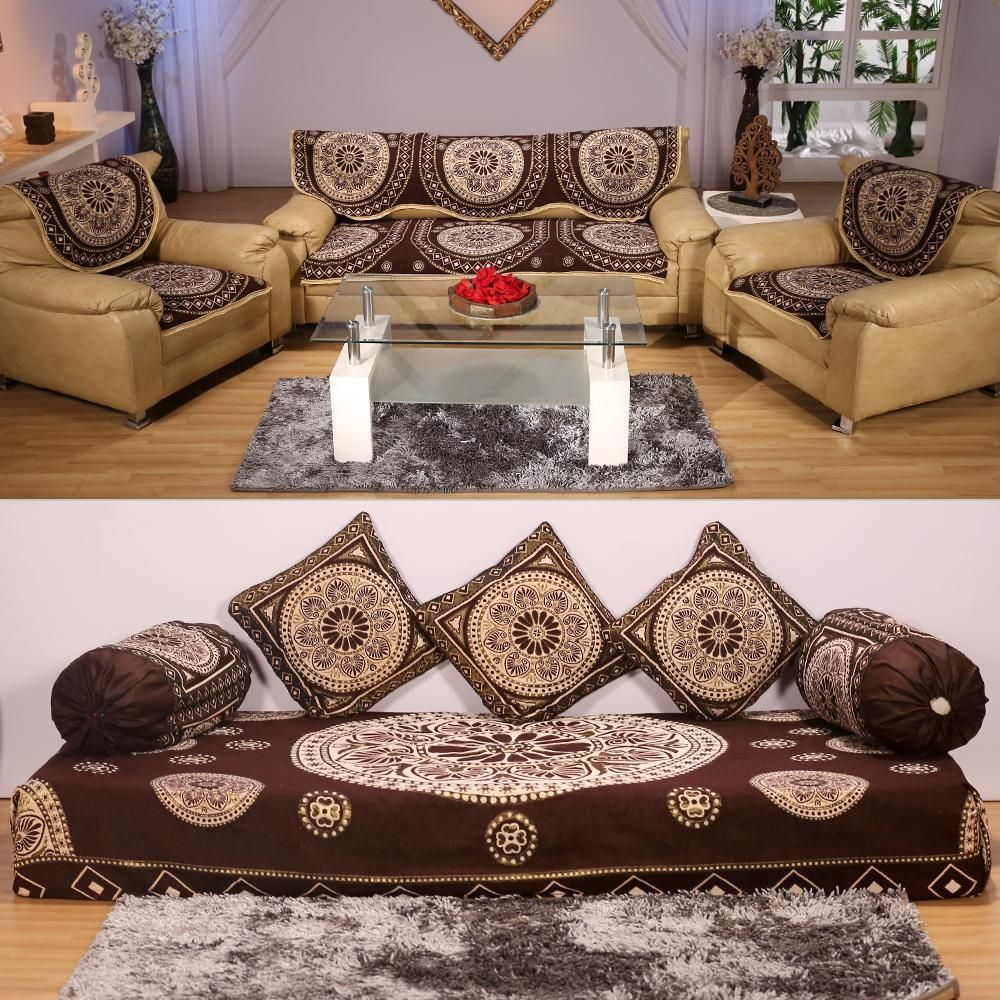 Bon Sofa Cover With Bed Sheet