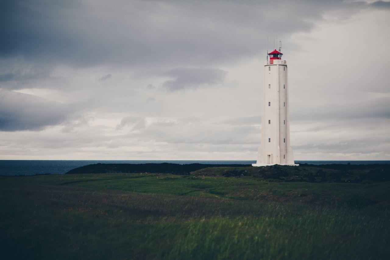 At the lighthouse - #iceland #landscape #lighthouse #malarrif #meolog #on #photographers #snaefellspeninsula #source #tumblr
