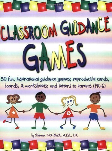 Classroom Guidance Games: 50 Fun, Inspirational Guidance Games; Reproducible Cards, Boards & Worksheets; and Letters to Parents book w/ CD by Shannon Trice Black, http://www.amazon.com/dp/1598500023/ref=cm_sw_r_pi_dp_pJbFrb0R54BT3