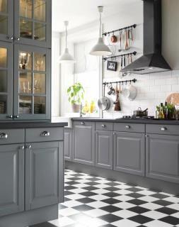 grey kitchen ikea FmrLT4CA | homeclan.xyz | Pinterest | Gray ...