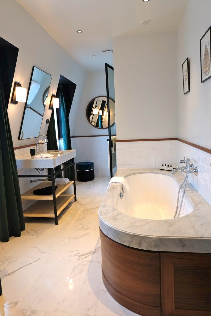 le roch h tel spa par sarah lavoine salle de bains pinterest. Black Bedroom Furniture Sets. Home Design Ideas