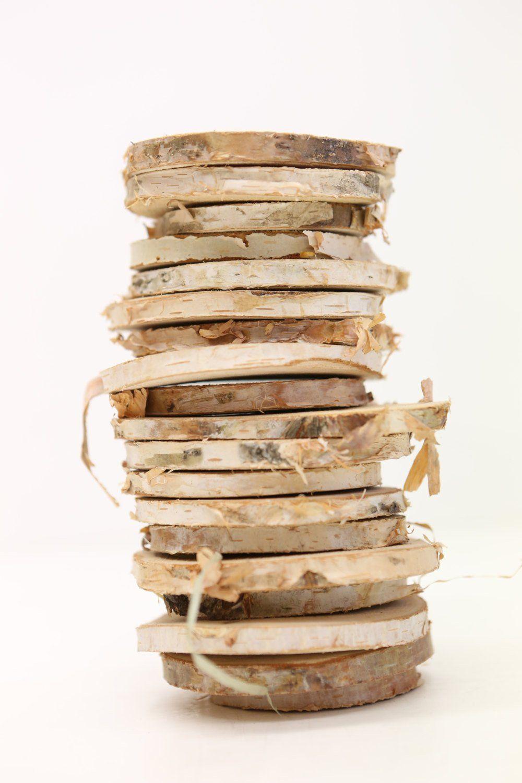 13++ Natural wood slices for crafts information