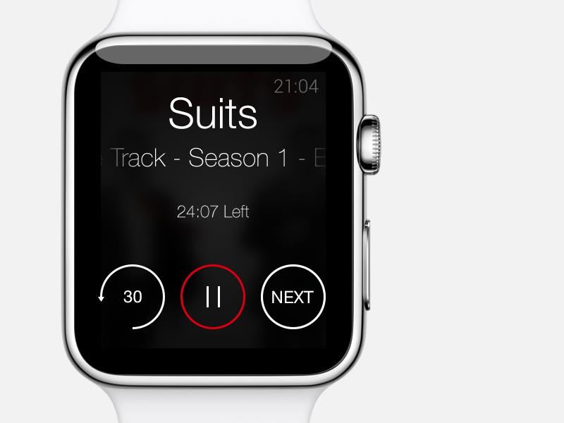 Apple Watch Netflix Apple Watch Apps Apple Watch App Design Apple Watch