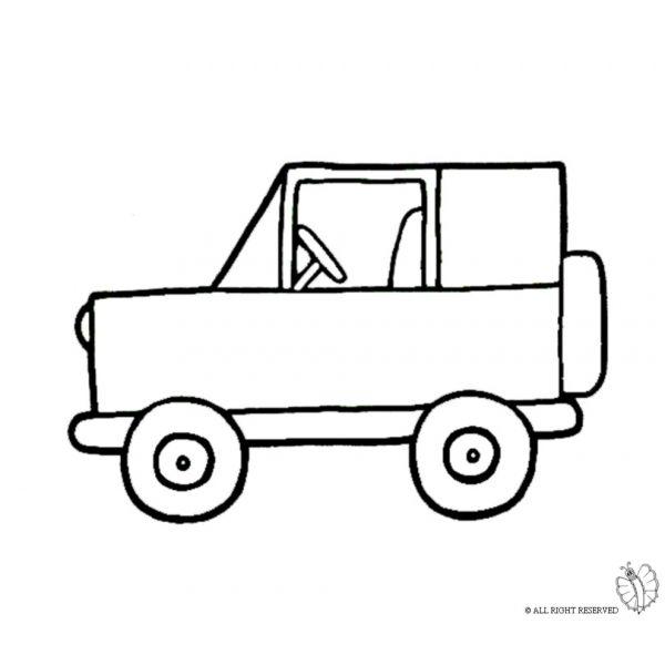 Disegno di jeep fuoristrada da colorare qui si crea for Jeep da colorare