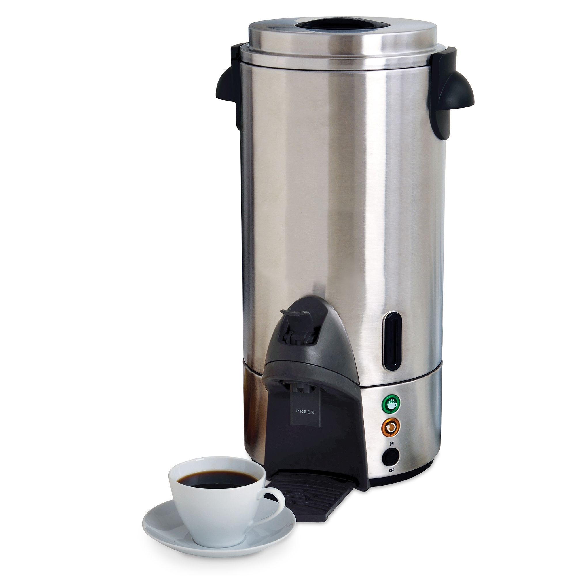 West Bend 100 Cup mercial Coffee Maker Stainless Steel
