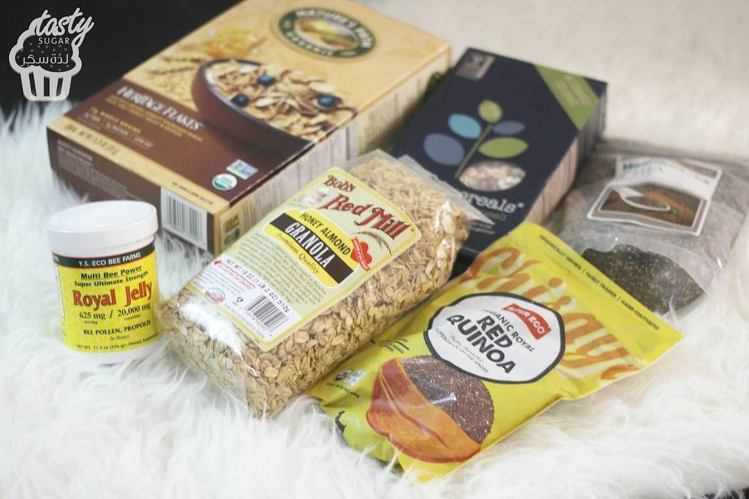 لذة سكر ينبع البحر On Instagram منتجات صحية مستوردة كورن فليكس دورست Dorest Cereals 36 ريال حبوب افطار قديمة Heritage Flakes 35ريال