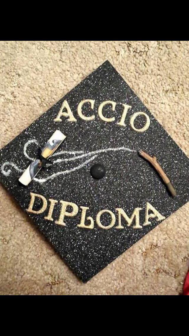 Harry Potter Accio Diploma Grad Cap – #accio #diploma #harry #potter – #new