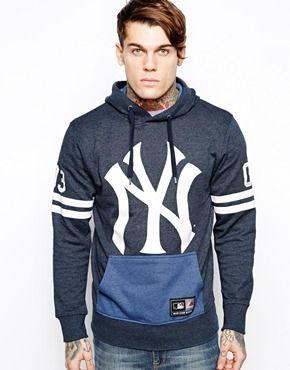 Sudadera con capucha NY Yankees de Majestic  4e4aecb7eef