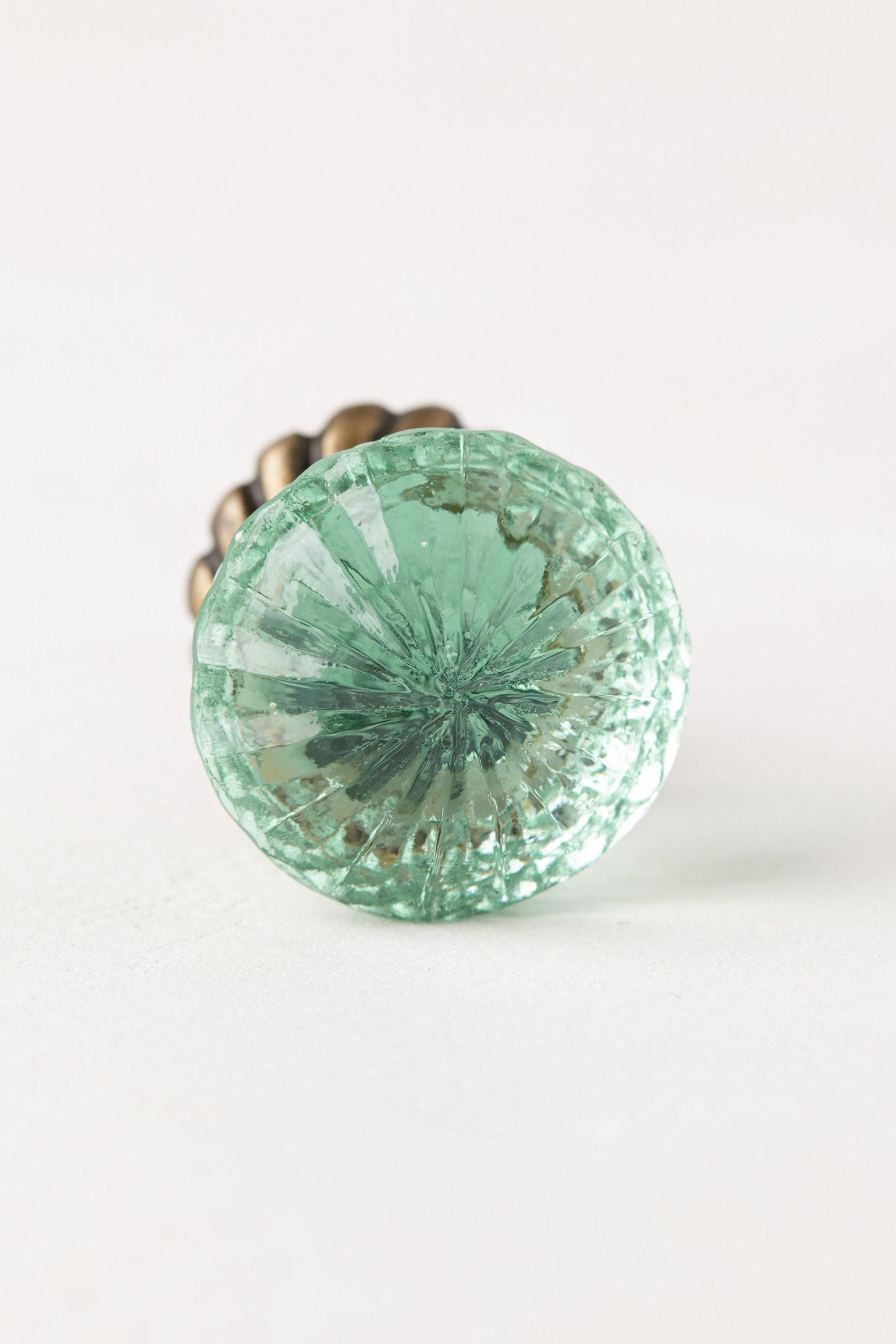 Simmered Glass Knob