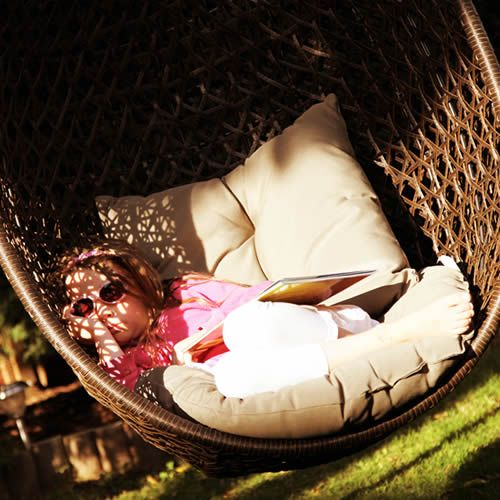 Bramblecrest Garden Furniture: Rio Hanging Cocoon Including Cushion ...