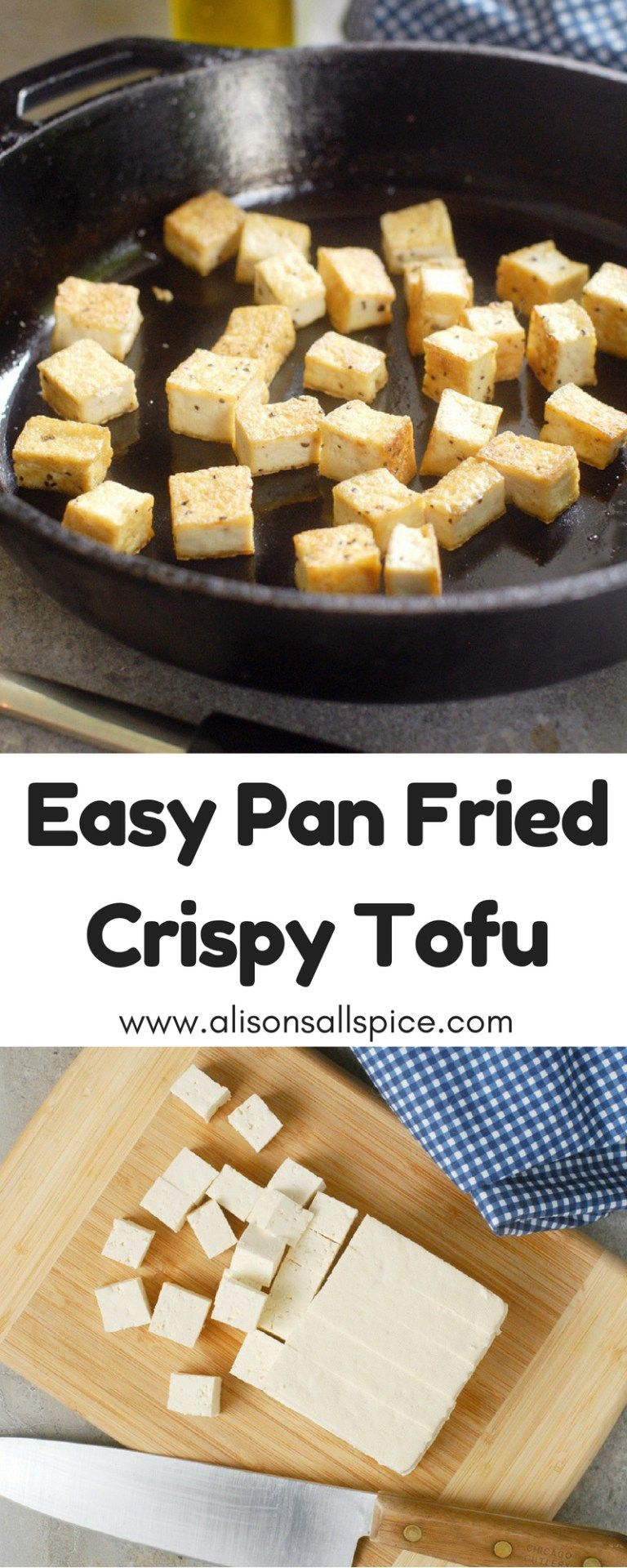 Easy Pan Fried Crispy Tofu images