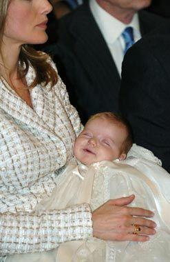 14 de Enero 2014.Bautizo de la Infanta Leonor,hoy Princesa de Asturias.