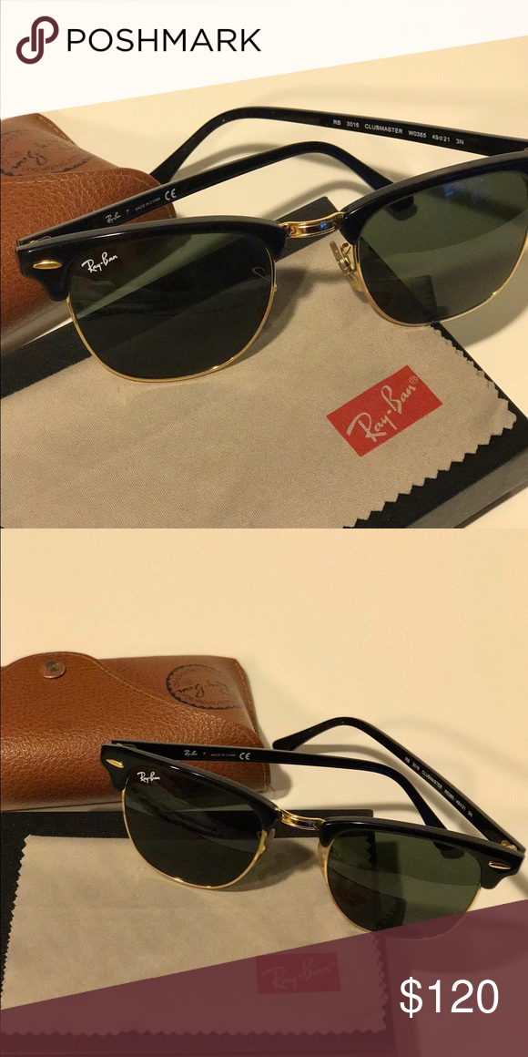 c4d8a5711821d Retro · 21st · Ray•Ban Classic Clubmaster Sunglasses in Black CLUBMASTER  CLASSIC PRODUCT DETAILS Model code  RB3016