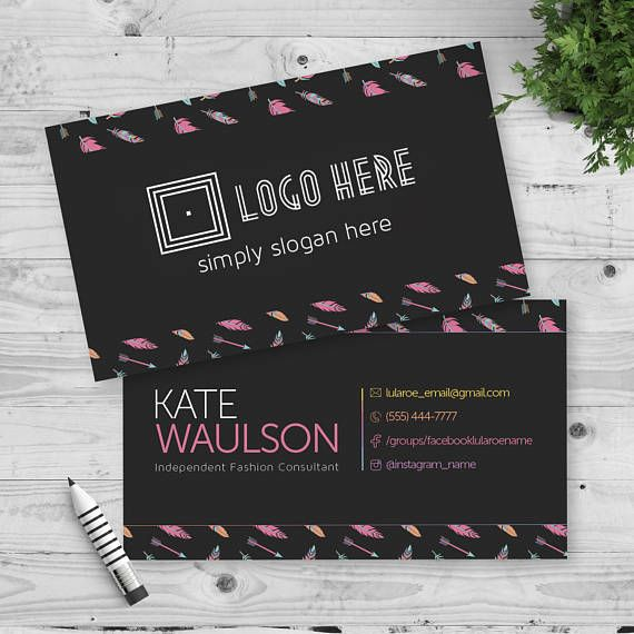 boho lula business card free fast personalize home office approved consultant card vistaprint arrow business cards llr fashionretailer - Lularoe Business Cards Vistaprint