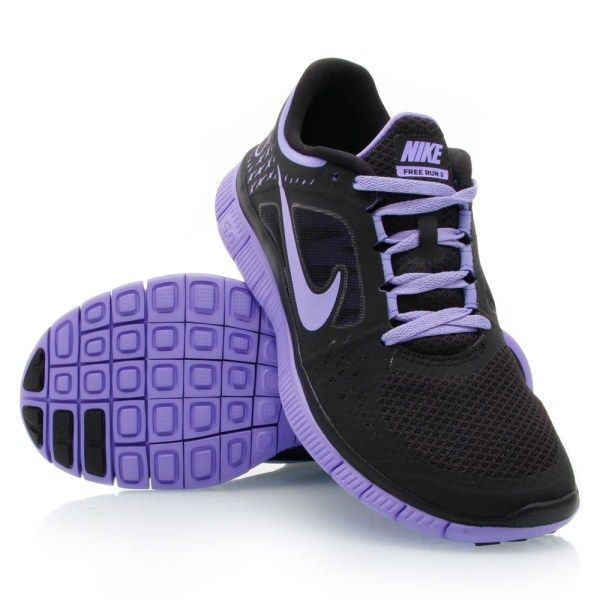 size 40 fd374 f5416 ... best price nike free run 3 womens running shoes black violet 3b578 7fb93