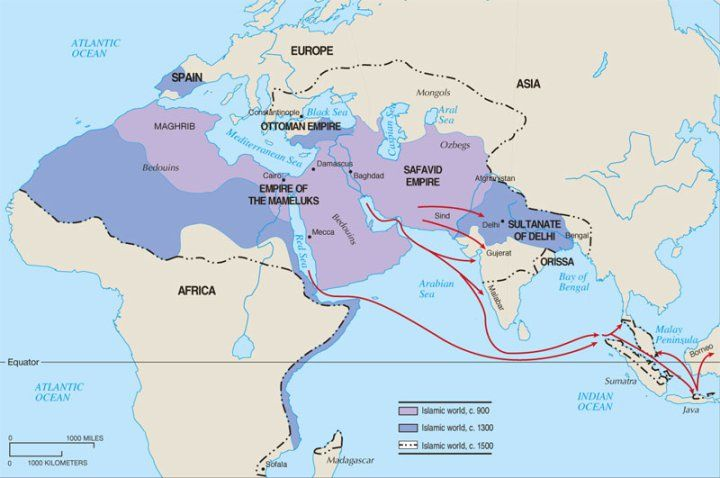 Essay on the 3 muslim empires