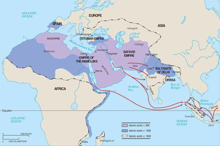Chapter 7 islamic empire and history chapter 7 world historyislamic worldhistorical mapssoutheast gumiabroncs Images