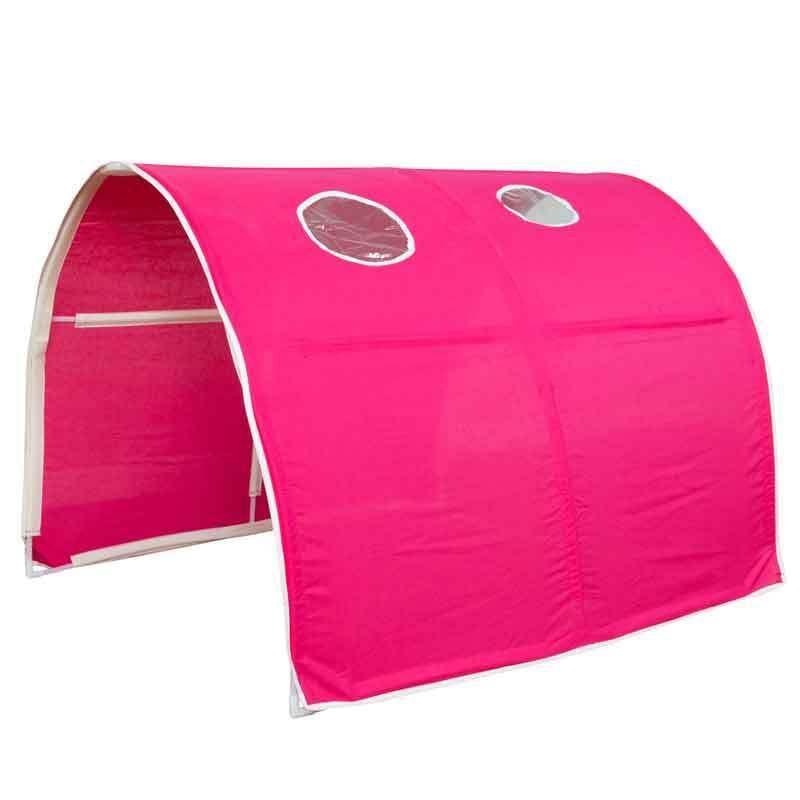 Tunnel De Jeu Pour Mezzanine Lit Rouge Rose Tente In Maison