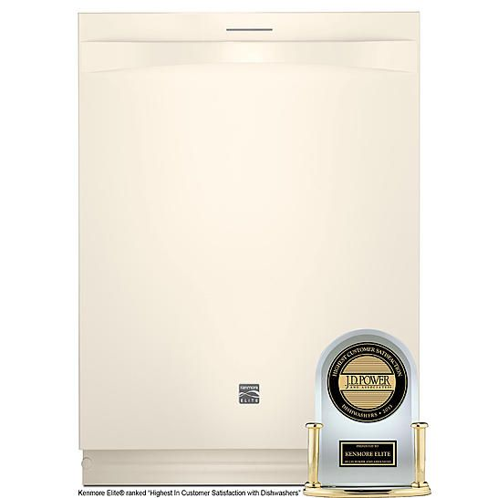 Kenmore Elite 24 Built In Dishwasher Bisque With Images