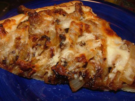Caramelized Onion Foccacia (Bread Machine)