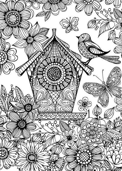 Bird House Spectrum Noir Colorista A4 Marker Pad