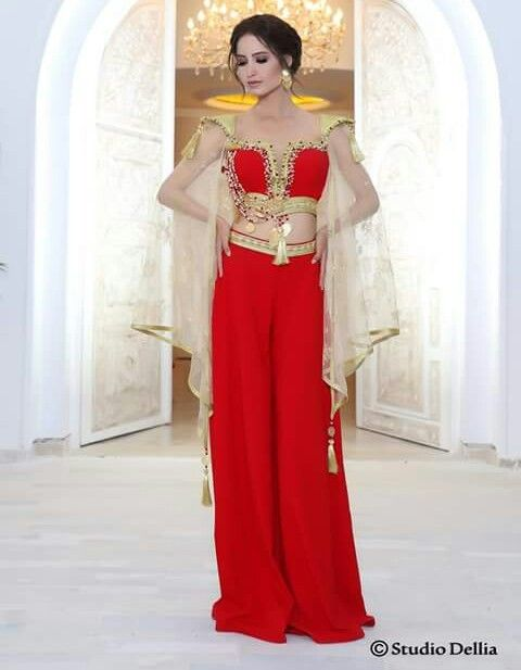 Robe soiree rouge tunisie