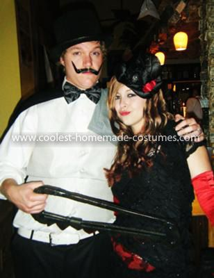 Coolest Magic Trick Gone Wrong Couple Costume Costumes, Halloween - mens halloween ideas