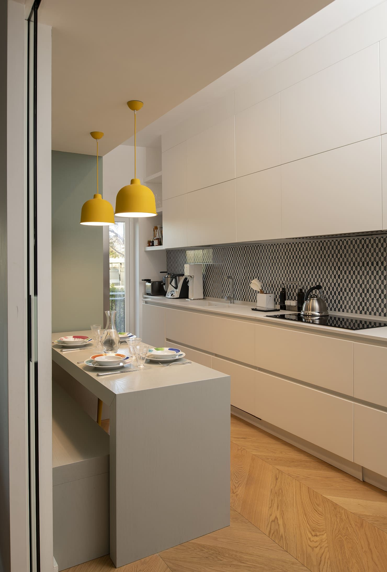 Architettura E Design casa tiziano cucina moderna di arabella rocca architettura e