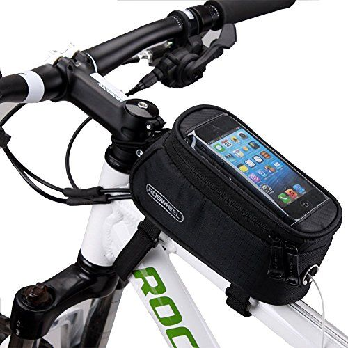 Waterproof Touch Screen Phones Case Bike Handlebar Bags Pannier Pouch Front Tube