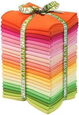 Kona Cotton - Sunrise - Fat Quarter Bundle
