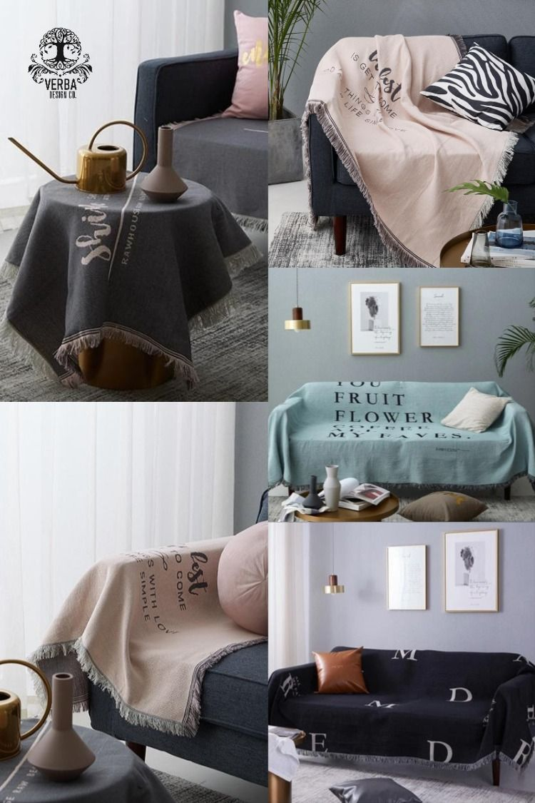 Take A Note Blanket Tightly knit threads soft and smooth these dyed blankets featuring text like Shine like the whole universe is yours and surrounded by soft fringe look...