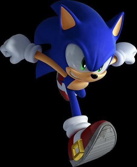 A girl who rolls with Sonic the Hedgehog <3