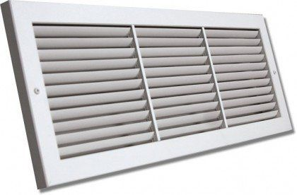 Shoemaker 1100 22x10 22 X10 Fixed Blade Baseboard Return Air Grille White By Shoemaker 38 55 The Sho Home