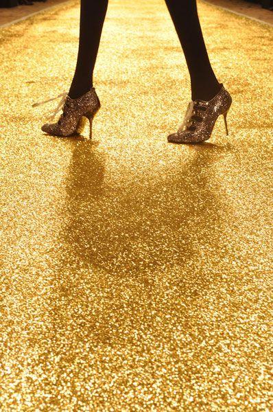 Gold Epoxy Floor