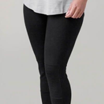 Damen-Leggings im Biker Stil   Damen leggings, Leggings und Selber nähen