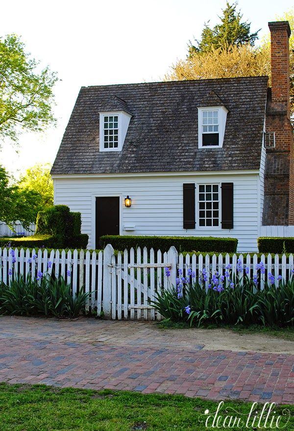Dear Lillie Colonial Williamsburg Colonial Garden Colonial House