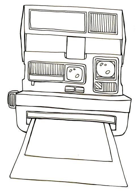 Polaroid Camera Sketch | www.pixshark.com - Images ...