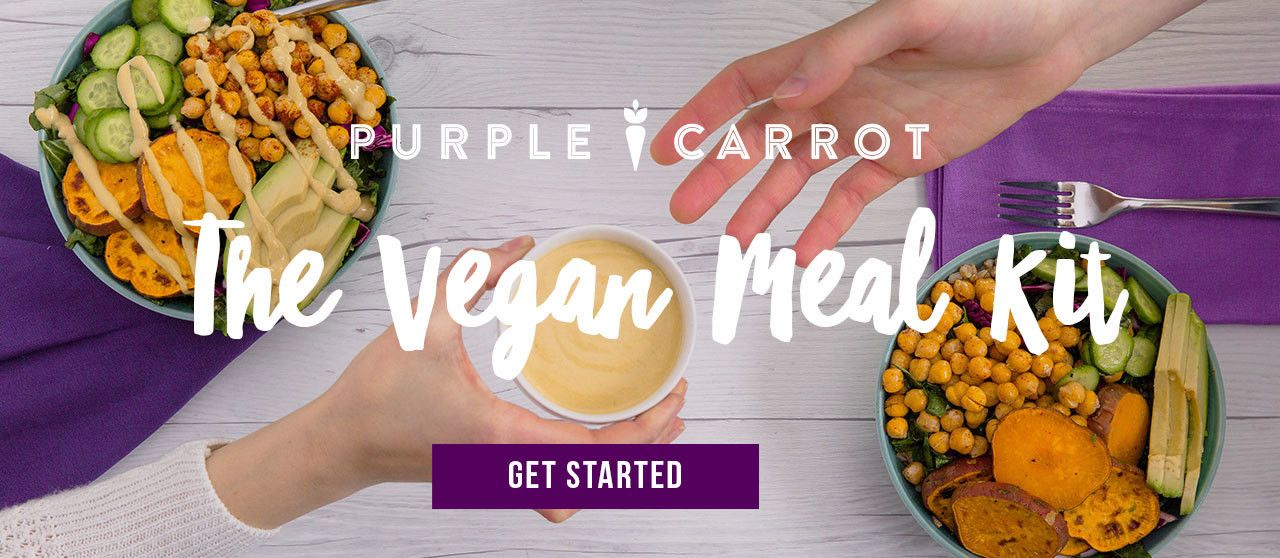 Purple Carrots Use Coupon Code 25carrots To Get 2 Free Meals 25 Off From Carrot Vegan Recipes The Food Prep Recipe Delivery