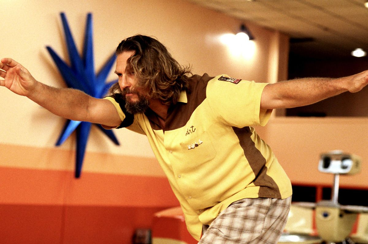 Blue star burst wall decor, yellow & brown bowling shirt, plaid ...