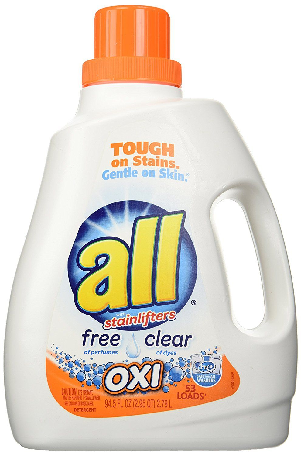 All Oxi Free Clear Laundry Detergent With Images Laundry