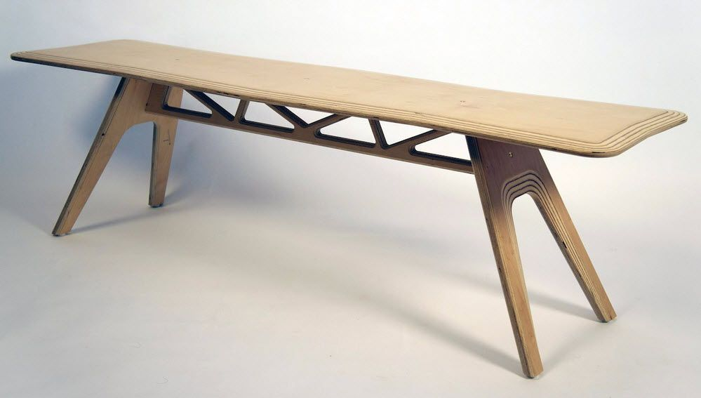 Creative Wooden Benches Picture | Home Interior Design and ...