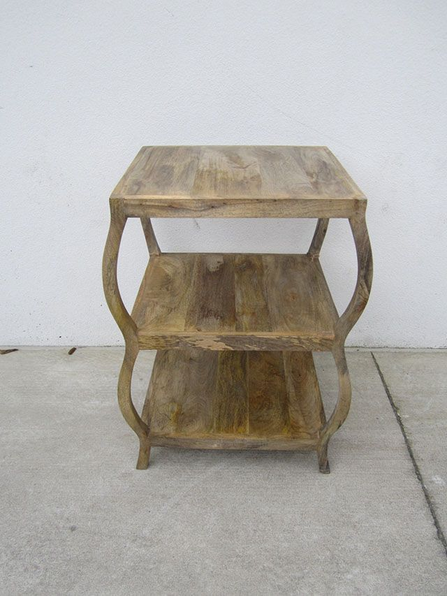 Tiered Side Table Table Nadeau Furniture Narrow Console Table