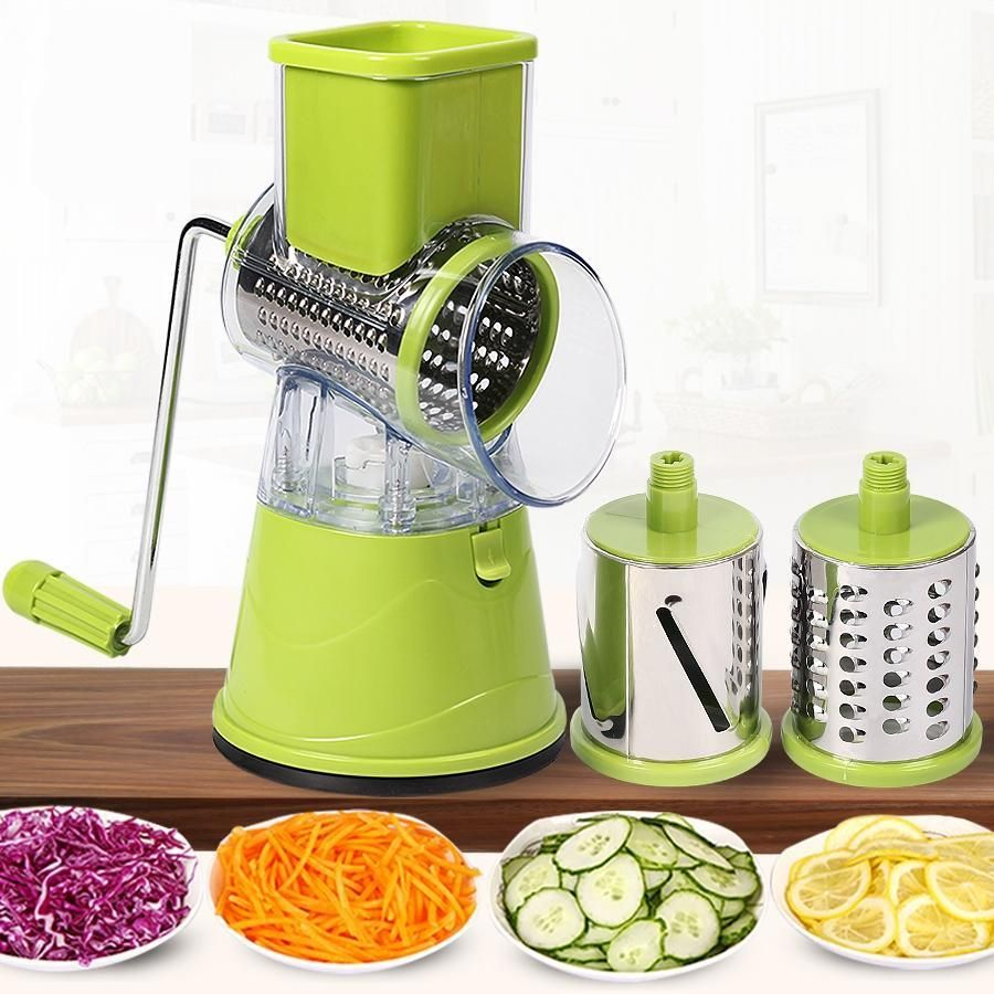 Cut Fries Potato Slicer Cutter Manual Detachable Multifunctional Stainless Steel