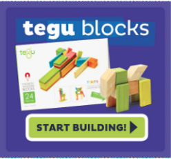 With smooth surfaces and rounded edges, Tegu Blocks offer a great tactile experience.